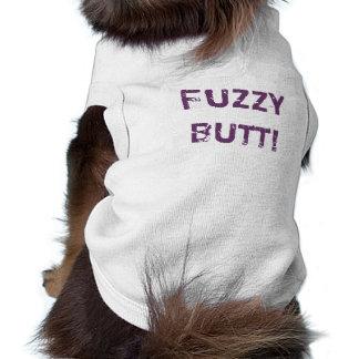 Camiseta del perro - extremo borroso playera sin mangas para perro