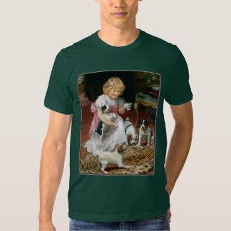 Camiseta del perro:  Tiempo del té para los Camisas