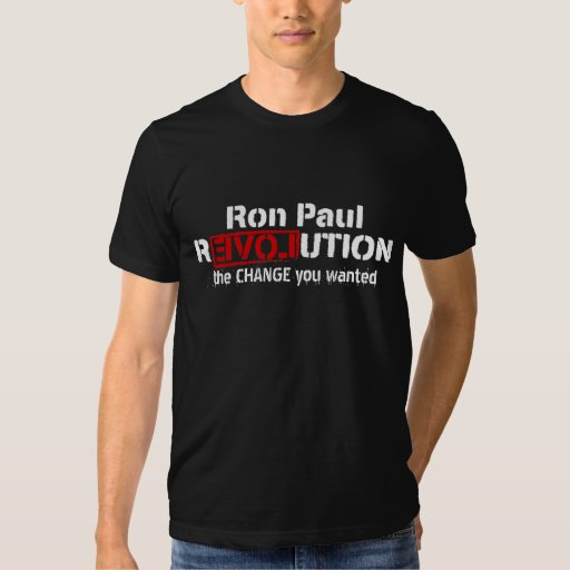 Camiseta del personalizable de la revolución de playeras