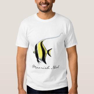 Camiseta del personalizable de los pescados del playeras