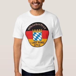 Camiseta del personalizable de Oktoberfest Playeras