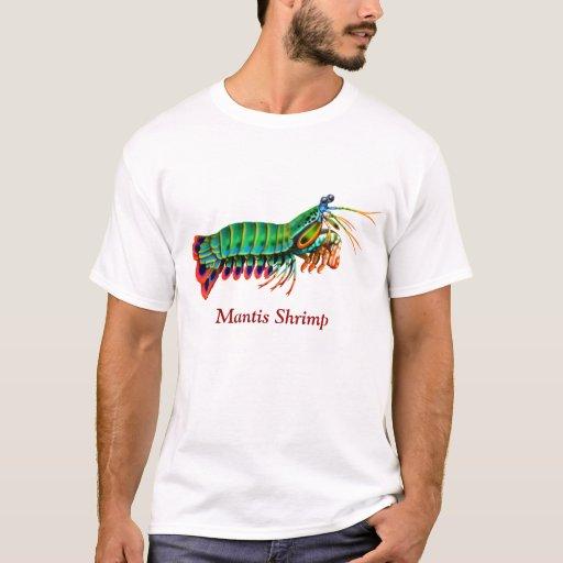 Camiseta del personalizable del camarón de