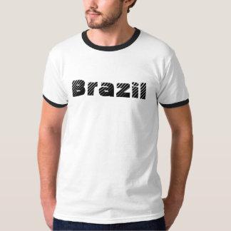 Camiseta del personalizado del Brasil Poleras