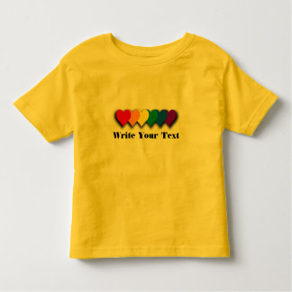 Camiseta del personalizado del orgullo de LGBT