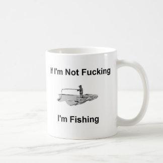 Camiseta del pescador de la pesca taza clásica