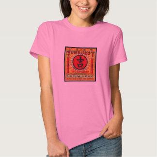 Camiseta del petardo del resplandor solar de la camisas