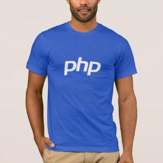 Camiseta del PHP (azul)