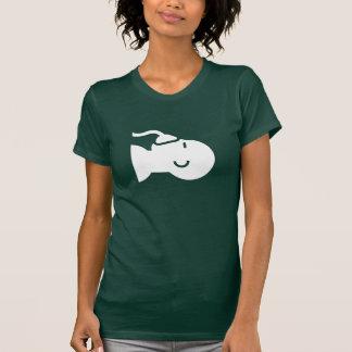 Camiseta del pictograma de la anestesia playeras