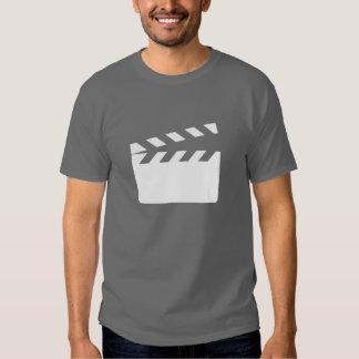 Camiseta del pictograma de la chapaleta playeras