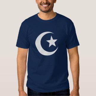 Camiseta del pictograma de la mezquita polera