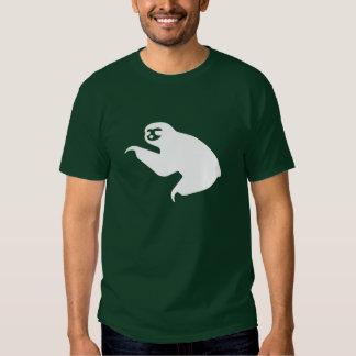 Camiseta del pictograma de la pereza polera