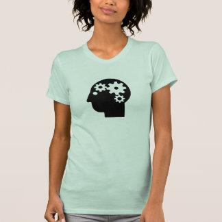 Camiseta del pictograma de la salud mental remera