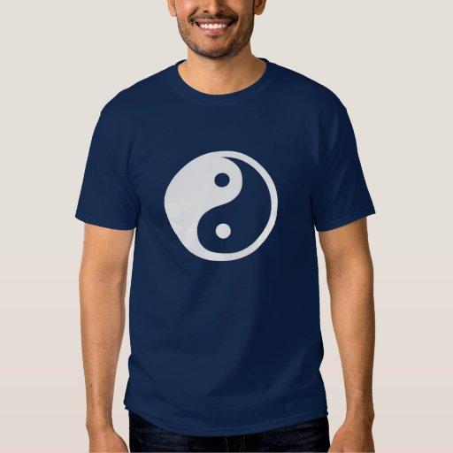 Camiseta del pictograma de Yin Yang Playeras