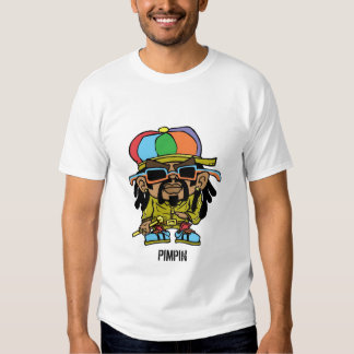 camiseta del pimpin del rasta remera