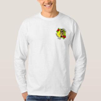 Camiseta del Pin-para arriba de Hawaii Wahine de
