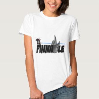 Camiseta del pináculo camisas