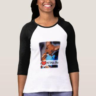 Camiseta del Pinscher miniatura Playera