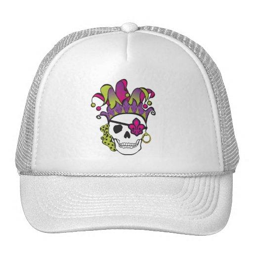 Camiseta del pirata del carnaval gorras de camionero