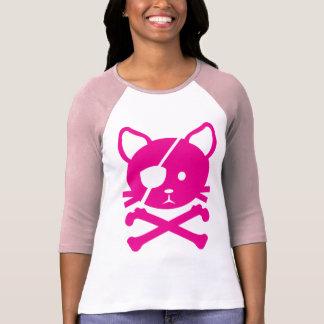 Camiseta del pirata del gato remera