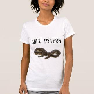 Camiseta del pitón de la bola