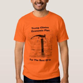 camiseta del plan económico del triunfo o de playera