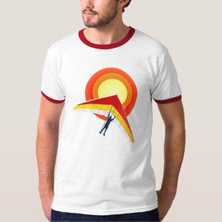 Camiseta del planeador de caída