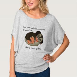 Camiseta del planeador del azúcar playera