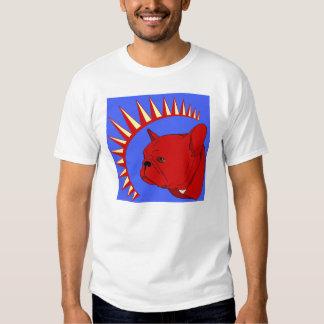 Camiseta del pliegue del presidente playera