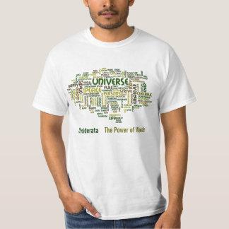 Camiseta del poema de la motivación de los camisas