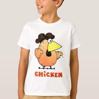 Camiseta del pollo
