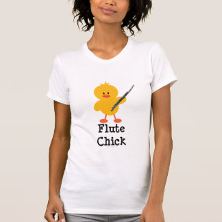 Camiseta del polluelo de la flauta remeras