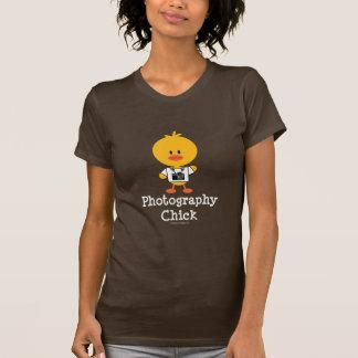 Camiseta del polluelo de la fotografía