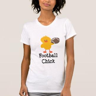 Camiseta del polluelo del fútbol