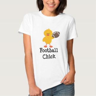 Camiseta del polluelo del fútbol playera