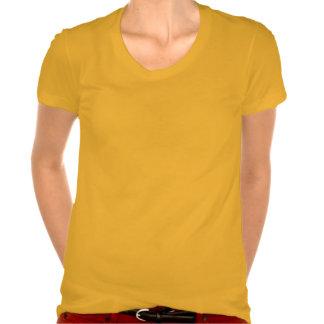 Camiseta del Polly-Algodón de la ropa del VINTAGE