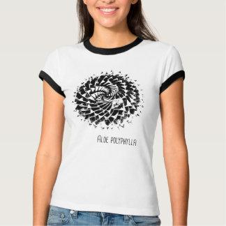 Camiseta del polyphylla del áloe