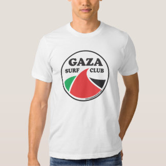 Camiseta del premio del club de la resaca de Gaza Playeras
