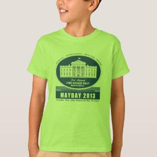 Camiseta del primero de mayo 2013 del niño remeras