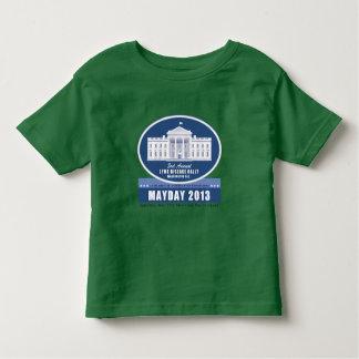 Camiseta del primero de mayo del niño playera de niño