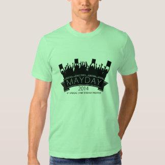 Camiseta del primero de mayo remera