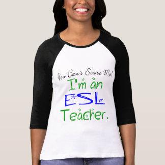 Camiseta del profesor del ESL