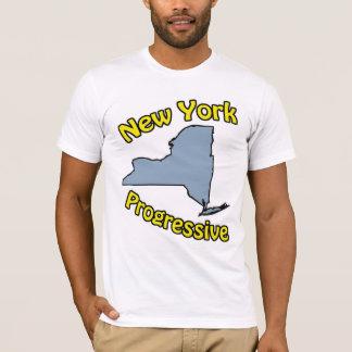 Camiseta del progresista de Nueva York