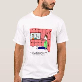 Camiseta del proyecto del genoma humano