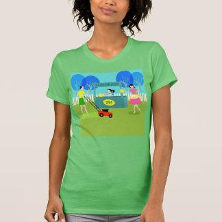 Camiseta del puesto de limonadas de los niños