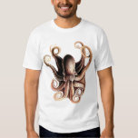 Camiseta del pulpo playera