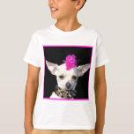Camiseta del punk de la chihuahua poleras