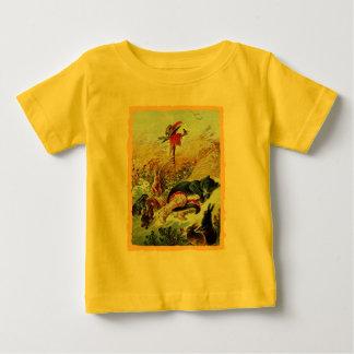 Camiseta del Puss y del niño de las botas Playera