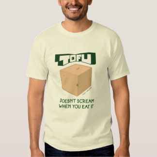 Camiseta del queso de soja camisas