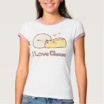 Camiseta del queso del amor remera
