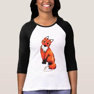 Camiseta del raglán de Bella de las mujeres del Remera
